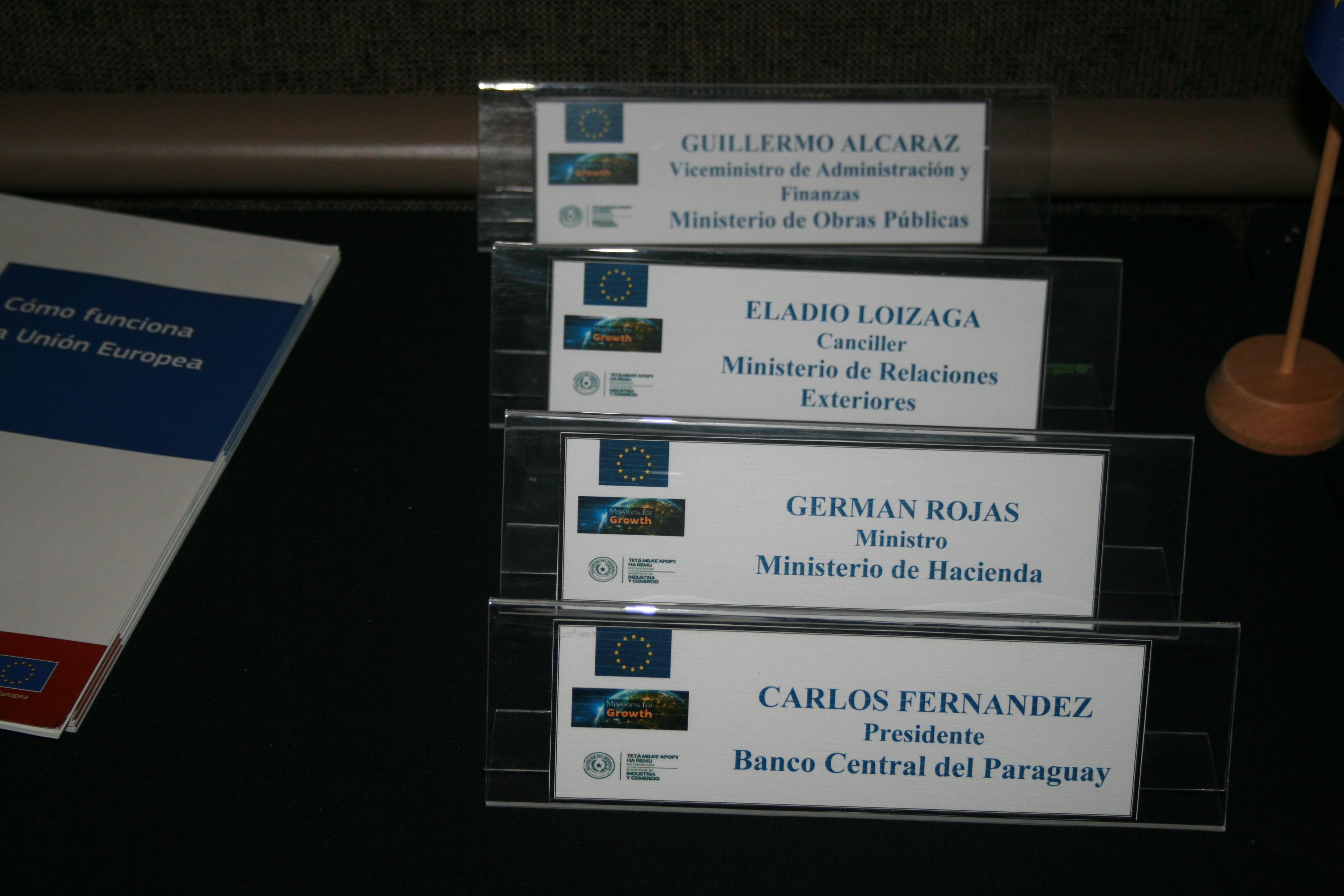 Wirtschaftskonferenz Paraguay